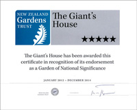 Garden of National Significance Jan 2012 - Dec 2014