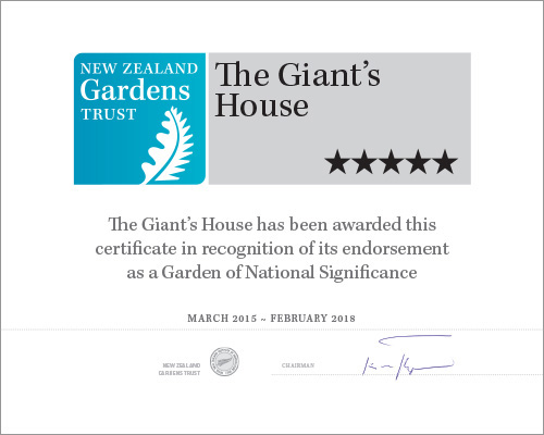 Garden of National Significance Mar 2015 - Feb 2018